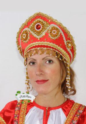 Russian woman's headdress