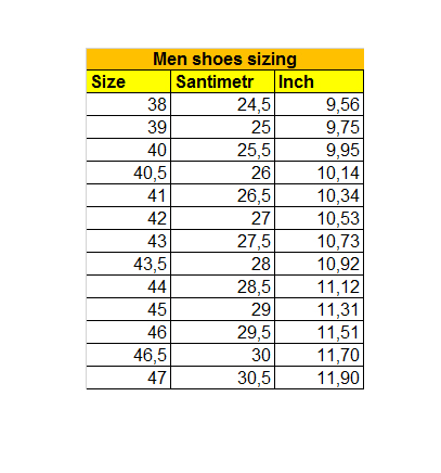 Men-shoe-sizing