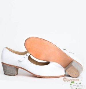 Woman white Russian Dance Shoes