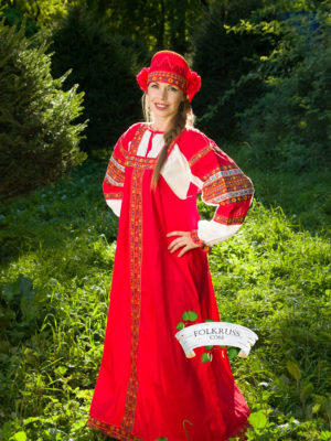 Woman folk dress