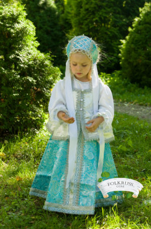 scenic rich russian dress