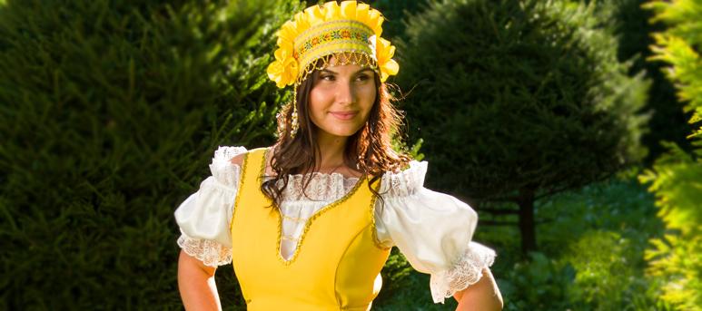 "National dance dress ""Annushka"""