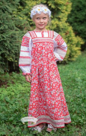 Mashenka traditional Russian dress
