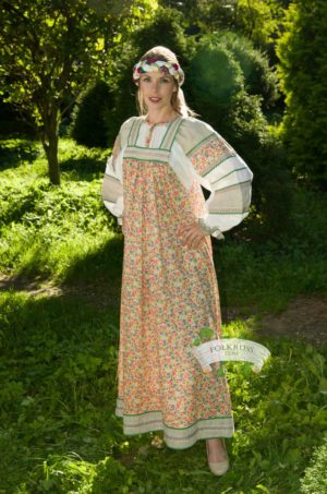 folk dress Mashenka
