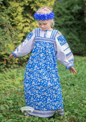 Mashenka russian dress for girls