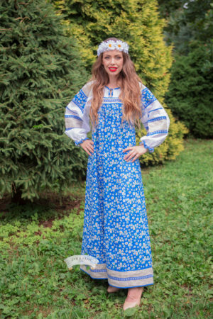 Mashenka national russian dress