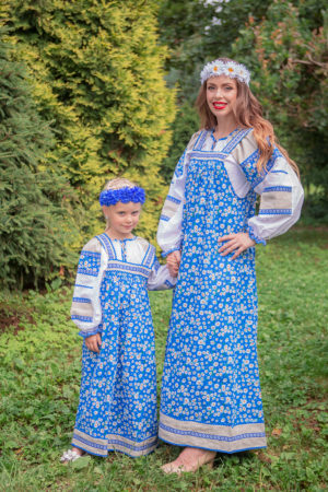folk slavic dress